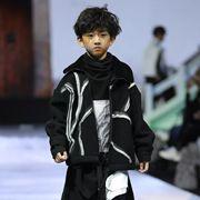 原创设计师JOJO童装2019《徽風雅集》冬季新品发布大秀圆满成功!