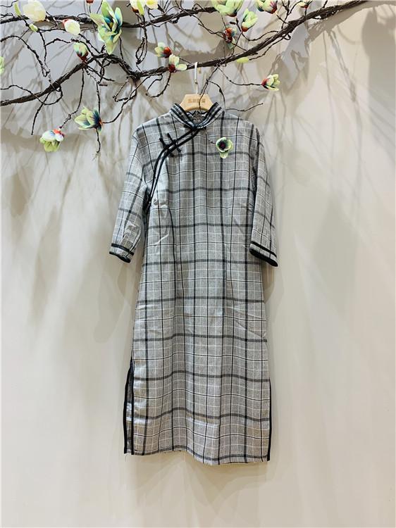玉兰世家品牌女装旗袍一手货源批发