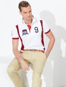富绅男装时尚休闲polo衫