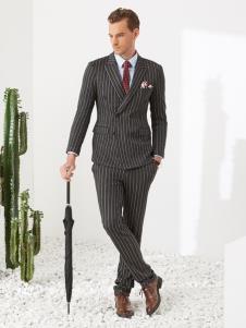 富绅男装西服定制样品展示