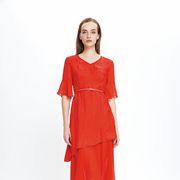今年流行哪种款式的连衣裙?乔帛新款连衣裙快来了解下!