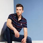 袋鼠男装新品Polo衫为你开启全新的时尚形态