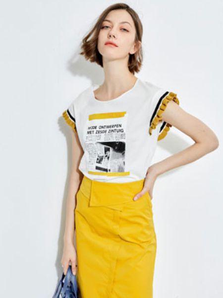 2019欧炫尔女装简约套装裙