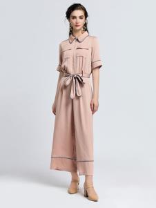 2019音非女装夏新款淑女套装
