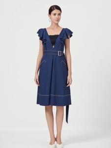原创设计师Ms.Leyna女装牛仔裙