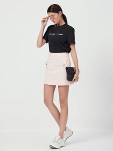 Ms.Leyna女装19新款黑色T恤