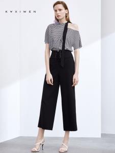 2019佧茜文女裝個性上衣