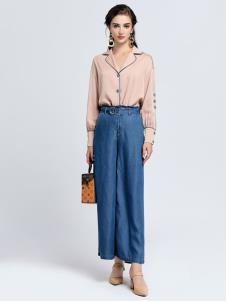 2019音非女装夏新款牛仔裤