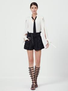 原创设计师Ms.Leyna女装白色衬衫