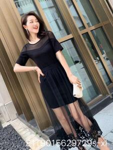 雨珊女装优雅小黑裙