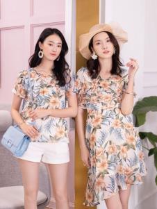2019布根香女装夏款印花系列