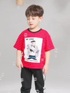 淘淘猫童装新款T恤