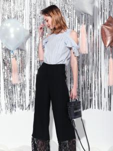 Saslax莎斯萊思新款黑色長褲