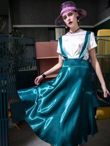 飞范女装连衣裙两件套