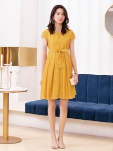 2019布根香女装新款连衣裙