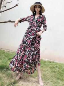 女衣号夏装碎花裙