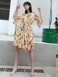 女衣号夏装新款连衣裙