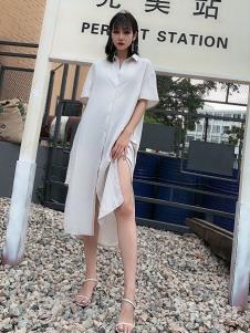 女衣号白色连衣裙