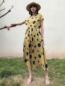 女衣号夏装长款连衣裙