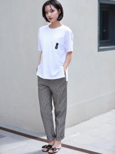 女衣号夏装白色T恤