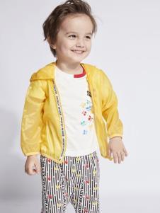 迪士尼宝宝男童黄色开衫