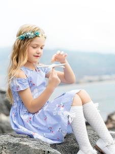 青蛙王子女童19新款可愛裙子