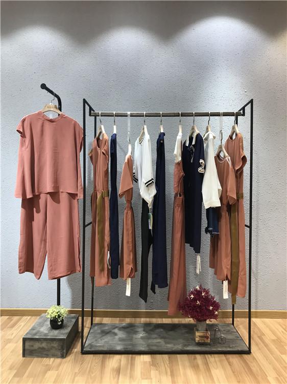 雅迪诺品牌2019夏装折扣女装一手货源走份
