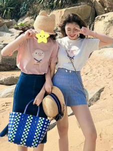 2019碧成萱夏款简约套装