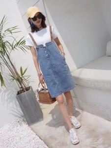2019碧成萱女装夏款牛仔裙