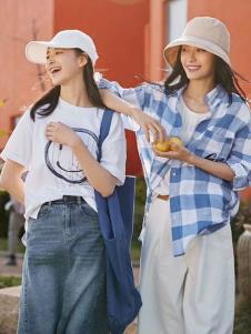 2019碧成萱女装白色T恤