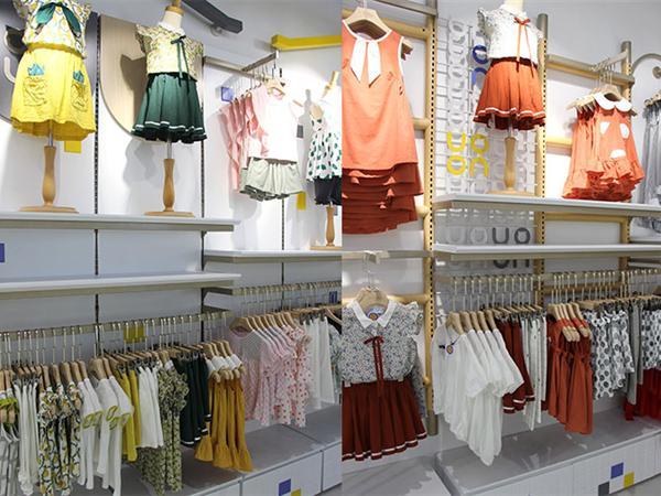 欧布豆童装实体店品牌旗舰店店面