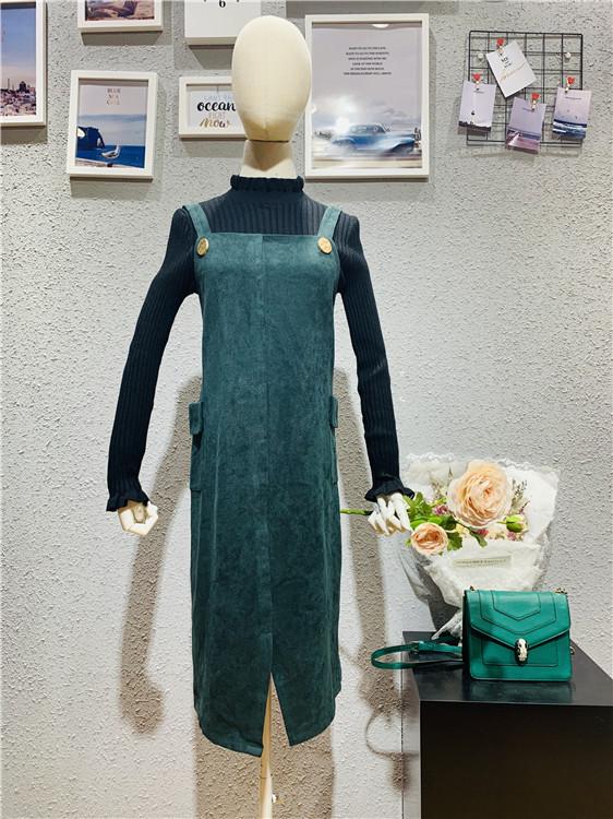 依窈2019品牌折扣女装货源批发