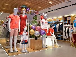 班尼路新形象店开业,23年品牌持续焕发年轻活力(图)