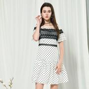 莎斯莱思女装,今夏超流行的波点,这样穿就是比别人好看!
