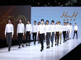 2019江南国际时装周:黄金年华的年轻男孩风(图)