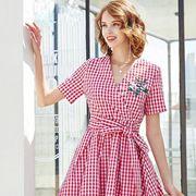 夏日甜美时尚的裙装怎么选 夺宝奇兵品牌折扣新款推荐