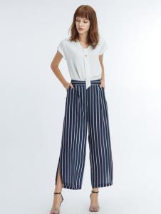 凡恩女装19条纹裤子