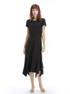 凡恩女装19黑色连衣裙