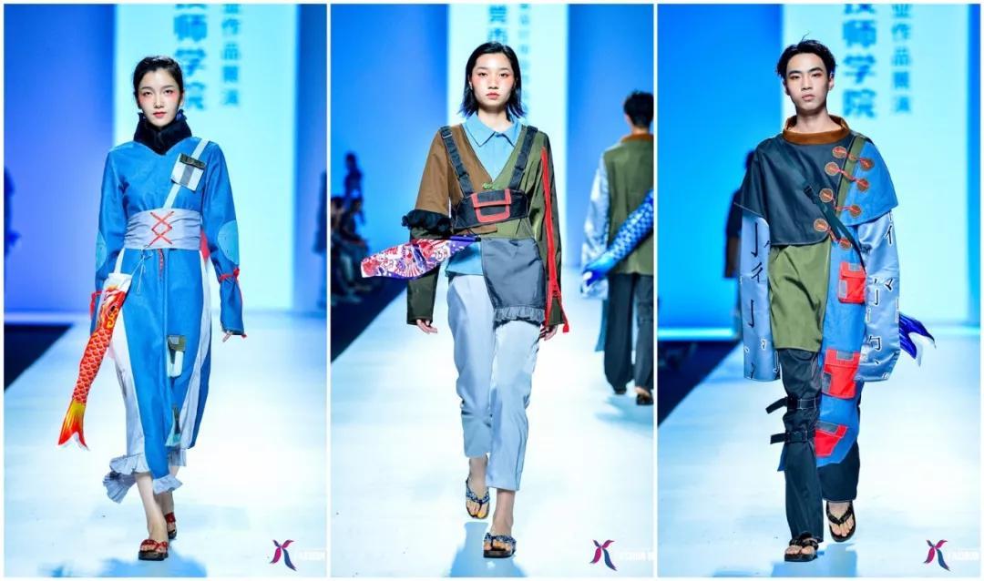 秀场直击丨东莞市技师学院服装设计毕业作品展演