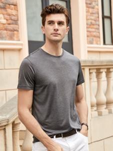 迪拉格男装19深灰色T恤