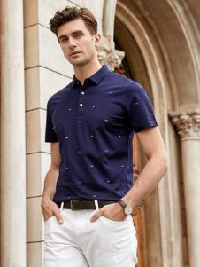 迪拉格男装19商务Polo衫