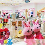 热烈庆祝曾女士、杨女士芭乐兔童装加盟店开业大吉