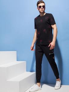 2019袋鼠男装夏新款polo衫