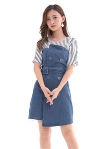 QIMYIDVR芊伊朵新款收腰連衣裙
