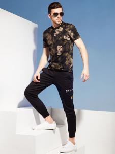 2019袋鼠男装印花T恤