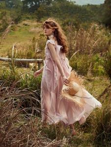奥伦提女装19粉色裙子