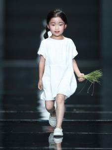 设计师NNE&KIKI童装女童连衣裙