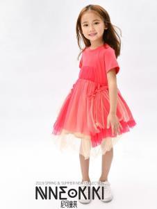 设计师NNE&KIKI女童夏款可爱裙子