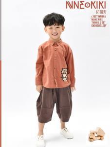 设计师NNE&KIKI男童衬衫
