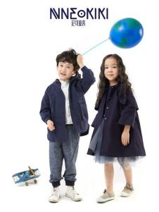 设计师NNE&KIKI童装新款外套